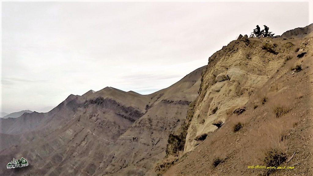 آفرود در منطقه واریش ، شمال غربی تهران – آذرماه ۱۳۹۶