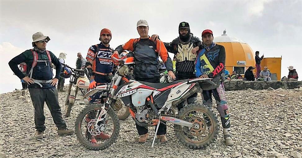 صعود به قله توچال با موتور – تابستان ۱۳۹۸