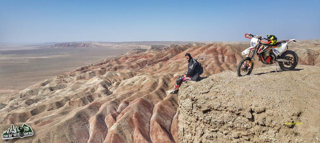آفرود با موتور در منطقه نصرت آباد کرج – بهمن ۱۳۹۸