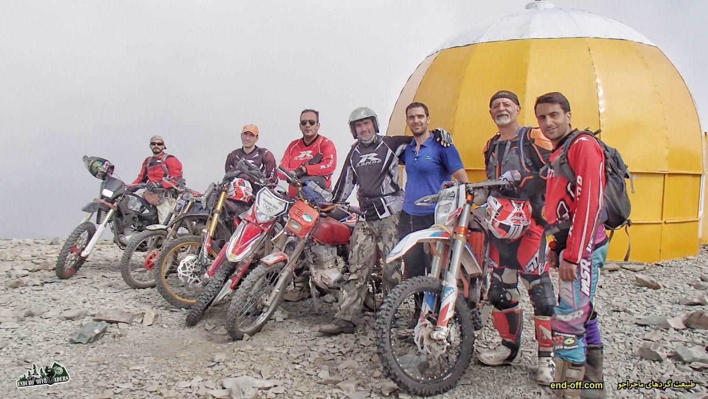 پنجمین صعود به قله توچال با موتور – مرداد 1399
